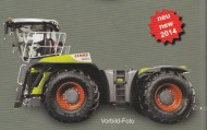 Weise-Toys 01719990 Claas Xerion 4000 Saddle Trac Limited First Edition scala 1/32