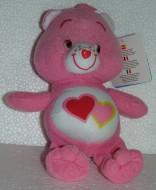 Amororsa 20cm Soffice Peluche Gli orsetti del cuore Care Bears Due Cuoricini Rosso Orso
