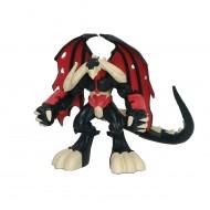 Dinofroz personaggio Drakemon con Funzione Speciale, Alto 10 cm di Giochi Preziosi GPZ07964