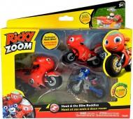 blister con personaggi Moto Hank il genitore - Ricky Zoom  -  Loop lunghe circa 9 cm cod rcy 02000