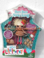GIOCHI PREZIOSI !!!! MINI LALALOOPSY !!! LALALOOPSY MINI SUGAR AND SPICE  ,PERSONAGGIO, BUN BUN STICKY ICING COD 12180