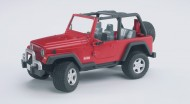 Bruder automobile  Jeep Wrangler Unlimited furistrada	[ cod 02520 ]