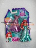 Principessa Ariel Disney con abito Magiclip  di Mattel X9406