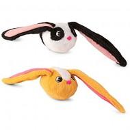 Imc Toys Bunnies Coppia Peluche Magnetico Coniglietto Bianco e Nero e Coniglietto Giallo Ocra …