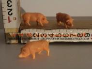 statine per presepe maiali 1 pezzo 515