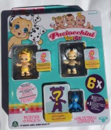 Paciocchini Twozies blister 3 personaggi e 3 animaletti - Twozies  MAXIE - 1 SLIPPA , animaletto TALKY come foto