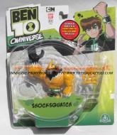 BEN TEN OMNIVERSE , BEN 10 OMNIVERSE PERSONAGGIO SHOCKSQUATCH , GIOCATTOLO 10 CM 36022 cod 36025