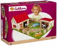 Eichhorn 100004308 - Fattoria in Legno, 25 Pezzi