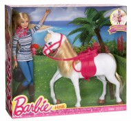 Barbie doll & horse - Barbie con cavallo CFN42 di Mattel