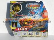 ASTRO TOP ,GIOCHI PREZIOSI NOVITA' BATTLE ARENA CON 3 TROTTOLE ASTRO TOP FLY TROTTOLE GIOCATTOLI COD 4070351 + 4700353
